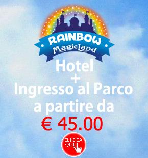 Offerte Parco Giochi Valmontone Rainbow Magicland